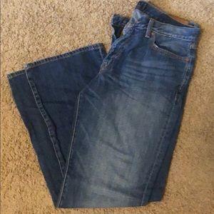 W33 L32 LUCKY BRAND Men's bootcut jeans.